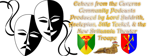 Theater Masks Logo for Echoes v2