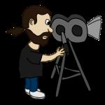 nicubunu_Comic_characters_Filmmaker
